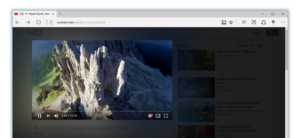 Turn Off the Lights for Microsoft Edge Atmosphere Lighting feature on YouTube