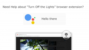 Turn Off the Lights Google Actions on Google Home