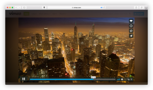 Vimeo video with Turn Off the Lights Safari App Extension
