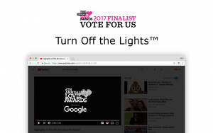 The Lovie Awards - Vote for Turn Off the Lights