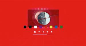 Change webvr background color in Aurora Player app