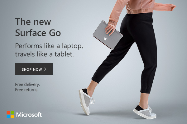 Microsoft Surface Go 2 the perfect portable touch screen device