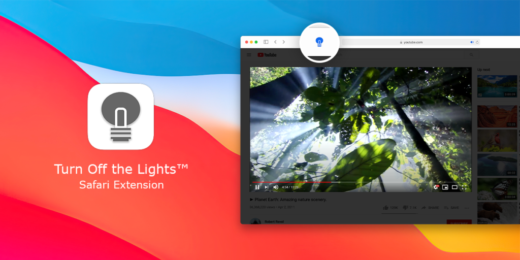Turn Off the Lights for Safari - Using the new Safari Web Extension technology