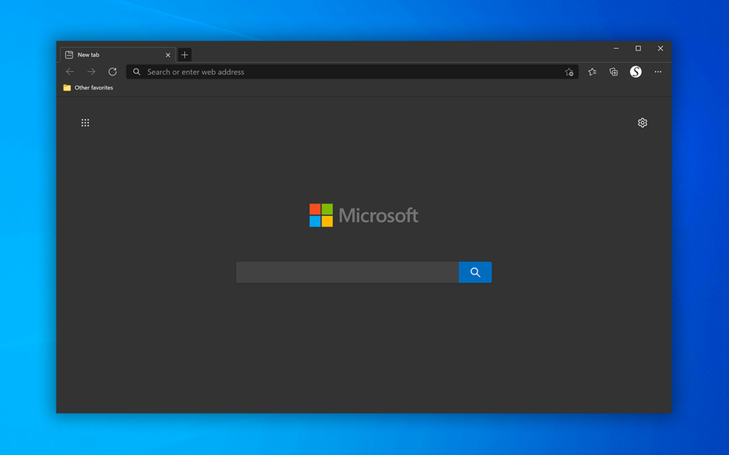 Dark Theme for Microsoft Edge