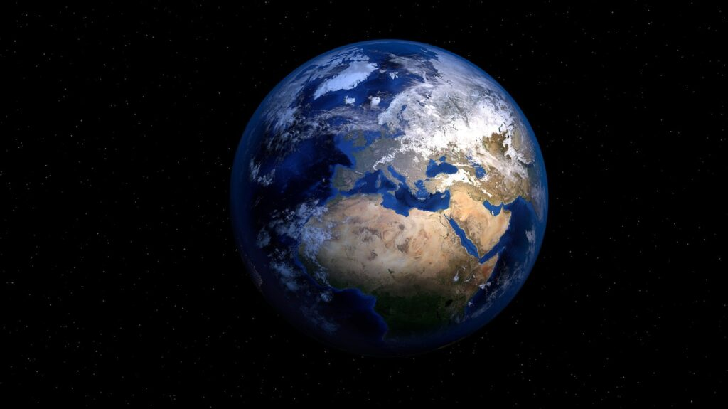 Celebrate Earth Day - Showing the mother earth
