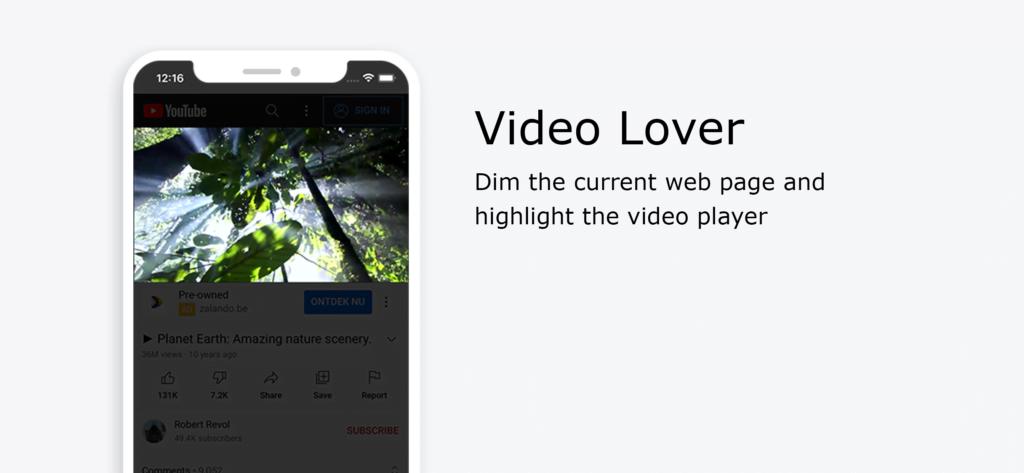 Video Lover Profile