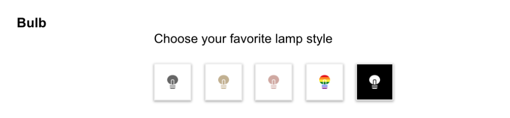 How to change the lamp icon in the Turn Off the Lights browser extension