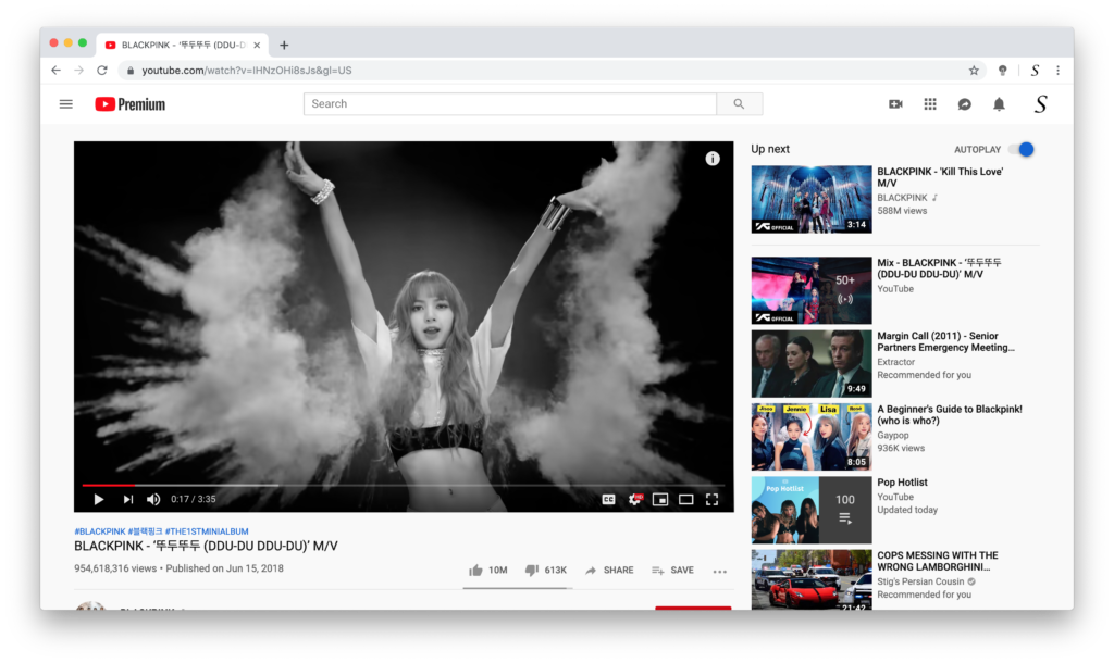 BLACKPINK convert video to black and white app