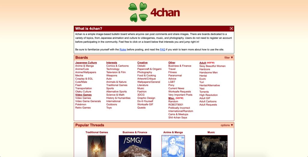 4chan regular website