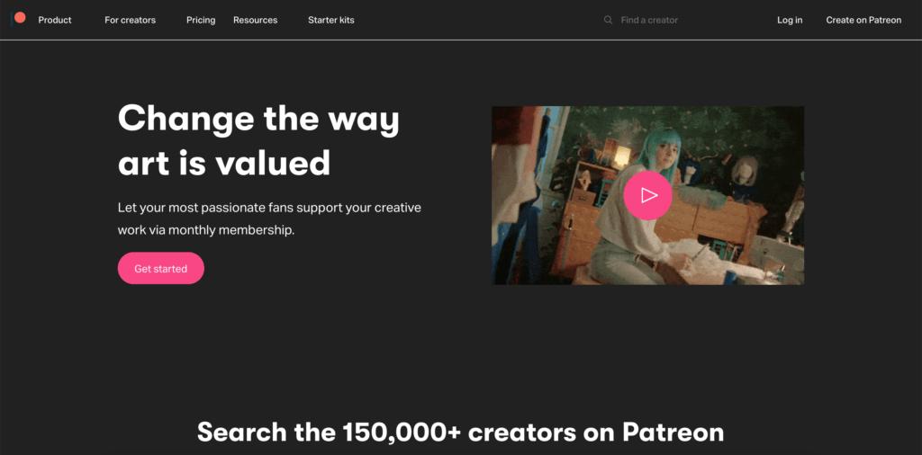 Patreon Dark Mode