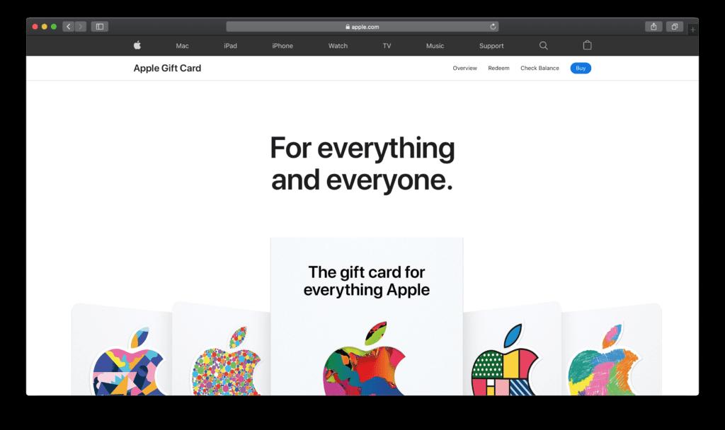 黑暗用户界面上的苹果 Safari Web 浏览器